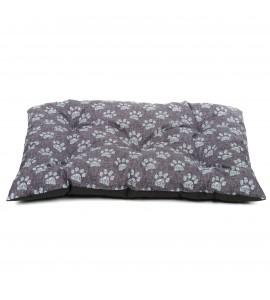 Poduszka w szare łapki