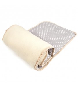 Poduszka parapetowa kremowa