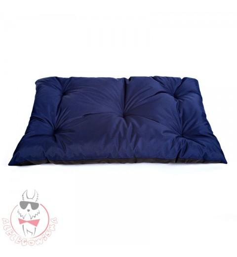 Kissen dunkel-blau